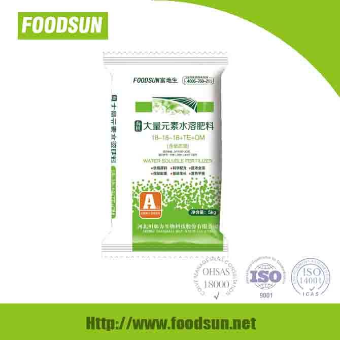 Organic Macroelement water soluble fertilizer